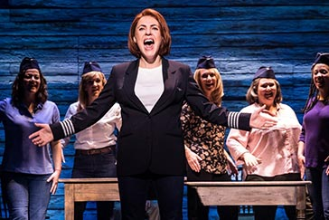 Rachel Tucker Reprises Olivier-Nominated Turn in Come From Away on Broadway