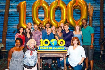 Come From Away celebrates 1000 performances on Broadway!