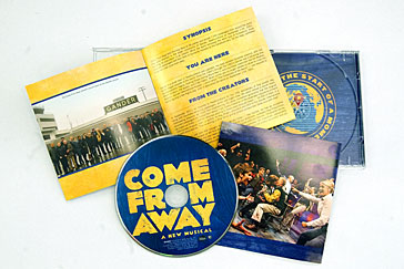 Come From Away nominated for a Grammy Award for Best Musical Theatre Album