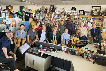 Watch Come from Away's Tiny Desk Concert