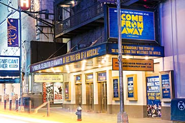 Come From Away comes in for an exuberant Broadway landing