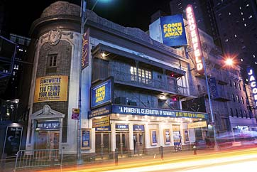 The surprise smash of the Broadway season: Come From Away