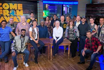 Come From Away cast performs 'Screech In' live on 'GMA'
