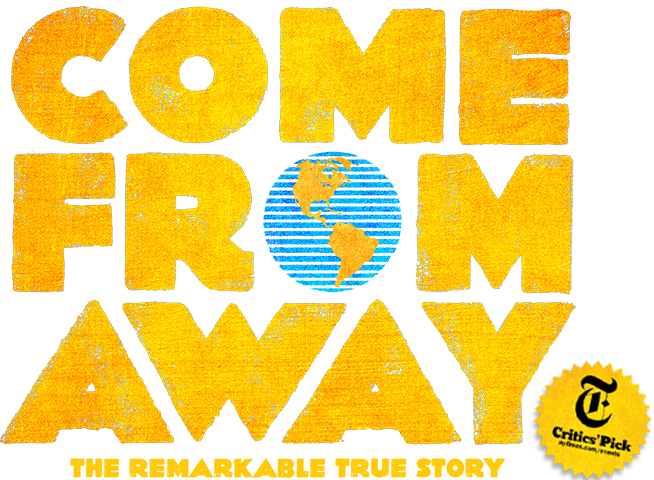 Come From Away | Now on Broadway | Official Site