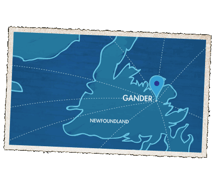 Gander Canada Map.Come From Away A New Musical Official Site
